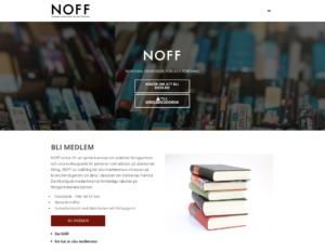 New website for NOFF (WordPress)